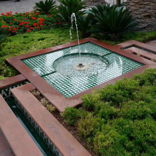 Фото фонтан на даче
